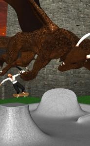 Skate Park Dragon 4